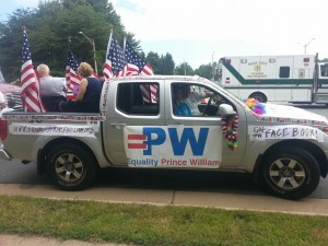 Dale City 4 July Parade - 2014